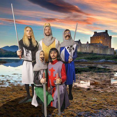 spamalot King Arthur + 4 Knights final-0538