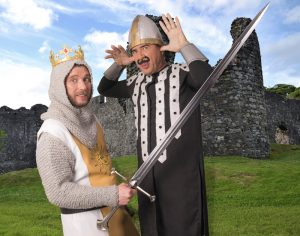 spamalot King Arthur and the French Taunter_154637738
